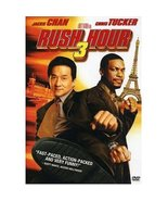 Rush Hour 3 (2007) Jackie Chan; Chris Tucker [DVD] [2007] - $1.95