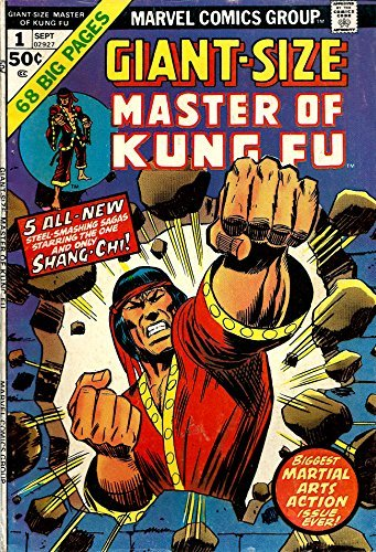 Giant-Size Master of Kung-Fu #1 - Marvel Comics 1975 [Comic] [Jan 01, 1975] M...