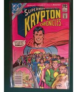 Superman Presents the Krypton Chronicles (Comic) Sept. 1981 No. 1 (1) [C... - $3.88