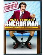Anchorman: The Legend of Ron Burgundy (Unrated Widescreen Edition) [DVD]... - $1.95