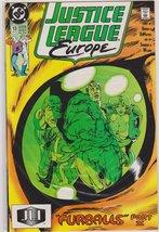 Justice League Europe #13 Furballs II [Comic] [Jan 01, 1989] DC Comics - $1.95