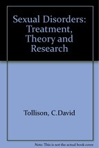 Sexual Disorders: Treatment, Theory, and Resear... - $2.95