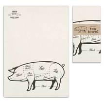 Farm Fresh Pork Tea Towel, Pillow Base - Set of 4 - $31.99