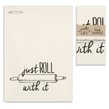 Just Roll With It Tea Towel, Pillow Base - Set of 4 - $31.99