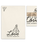 Love Beyond Measure Tea Towel, Pillow Base - Set of 4 - £24.00 GBP