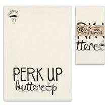 Perk Up Buttercup Tea Towel, Pillow Base - Set of 4 - $31.99