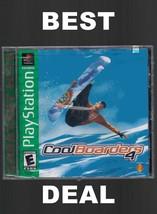Cool Boarders 4 (Sony PlayStation 1, 1999)--BRA... - $19.99