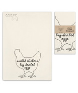 Wicked Chickens Tea Towel, Pillow Base - Set of 4 - $31.99