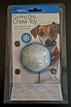 Dog Chew Toy Icy Cooling Freezable Rubber Ball Chew SAME-DAY FREE SHIPPING - £5.07 GBP