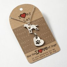I Love My Labrador Retriever Fashion Necklace
