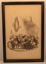 THE CARD ROOM AT BATH DRAWING HARRY FURNISS FRAMED VGC - $12.95
