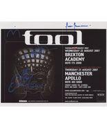 Tool (Band) FULLY SIGNED Photo + COA Lifetime Guarantee Danny Carey - $99.99