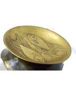 Rare Vintage Riccardo Scarpa Bronze Relief Pisces Fish Card Tray Trinket... - €155,87 EUR
