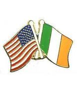 12 Pins - IRELAND & AMERICAN FLAG , irish us pin 681 - $9.00