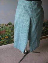 Talbots Petites White & Blue Women Capris Pants Size 10P New - $19.79