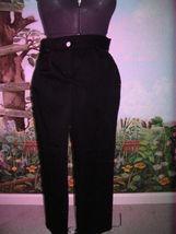 WILLI SMITH BLACK WOMEN PANTS SIZE 6 NWT - $29.69