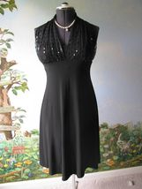 Jessica Howard Black Cocktail Halter Dress SZ 8 - €31,39 EUR