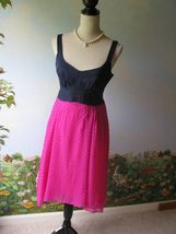 Nanette Lepore Runway Women Magenta Mermaid Silk Dress SZ 8 NWT - $185.51 CAD