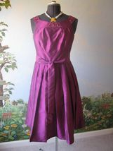 JESSICA HOWARD Magenta Cocktail / Evening DRESS SZ 10 - €35,88 EUR