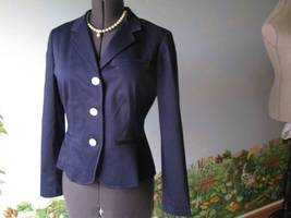 Ralph Lauren Blue Long Sleeve Blazer / Suit Jacket Size 12 NWT $169 - $98.99