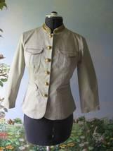 Michael Michael Kors Putty, Military Blazer Jacket SZ12 Nwt - $79.18