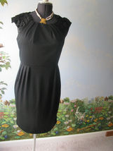 Sandra Darren Black Cocktail / Evening Sleeveless Dress SZ 10 NWT - $41.57