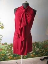 "Diane von Furstenberg DVF ""Morana"" Raspberry Dress Sz 8 $475 NWT - $188.09"