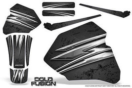 Honda XR80 XR100 Xr 80 100 1985-2000 Creatorx Graphics Kit Cold Fusion Black - $108.90