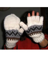 Woolen gloves,mittens made of  Alpacawool - $24.00