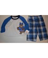 Carters  Infant  Boys Sleep Wear 2 Piece Set  Size 12 M NWT  - $11.19