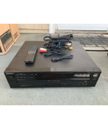 Sony CDP-C345 5 Disk Disc Carousel CD Player TESTED With Remote Used - $25.00