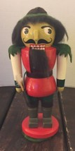 Vintage Christmas Wooden Nutcracker Forest Huntsman Holiday Decoration - $32.71