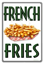 French Fries Metal Sign - $29.95