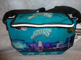 JACKSONVILLE JAGUARS TEAM LOGO COOLER BAG FOLDS ICE CHEST 12-12OZ CAN CA... - $9.84