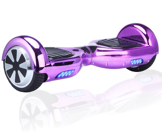 2017 Chrome Purple Hoverboard Two Wheel Scooter USA Shipping