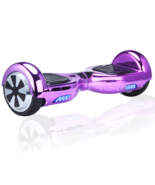 2017 Chrome Purple Hoverboard Two Wheel Scooter USA Shipping - $249.00