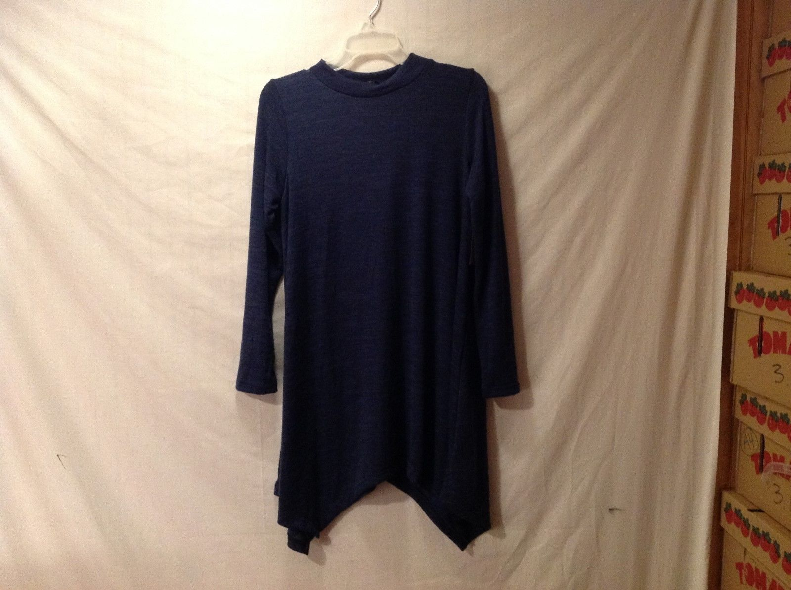 NEW Womens' Accent Bluish-Gray Long Sleeve Top/Shirt Size Medium and X-Large