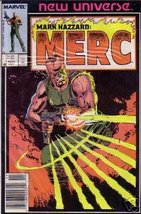 Mark Hazzard: MERC #1 Nov [Comic] [Jan 01, 1986... - $2.31