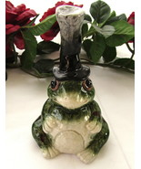 Ceramic Bell, Frog, Apple Tree Designs - $15.00