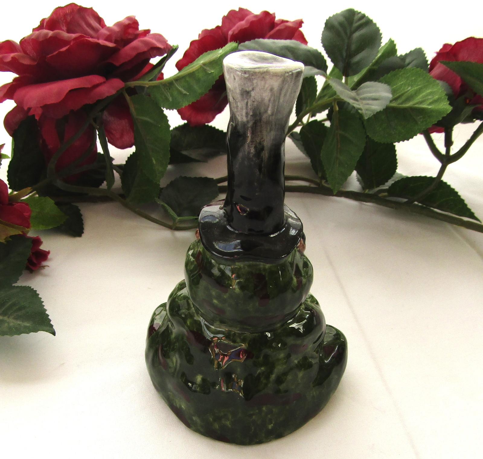 Ceramic Bell, Frog, Apple Tree Designs