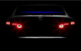"Thin Blue Line decal, Thin blue line reflective windshield sticker 65 "" ... - $18.00"