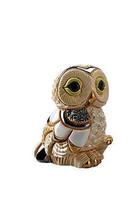 De Rosa Rinconada Baby Winter Owl I Figurine - $66.39