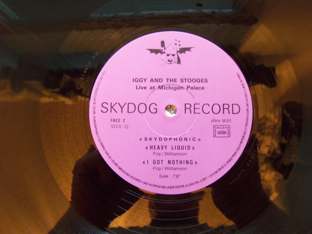 Iggy And The Stooges I Got Nothing 1st Press Skydog Ep Michigan Palace 1974
