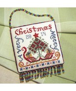 CLEARANCE Santa's Sleigh ornament CHART ONLY cr... - $7.00