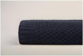 Kashwere Basket Weave Black Throw Blanket - $165.00