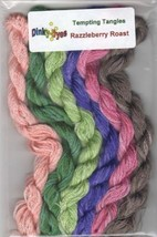 ** SILK FLOSS PACK for Razzleberry Roast cross stitch chart Dinky Dyes - $20.25