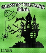 ** Glow-In-The-Dark 28ct Linen 18x19 1/4yd cross stitch fabric Fabric Flair - $18.75