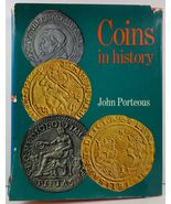 Coins in History by John Porteous 1969 HCDJ - $6.99