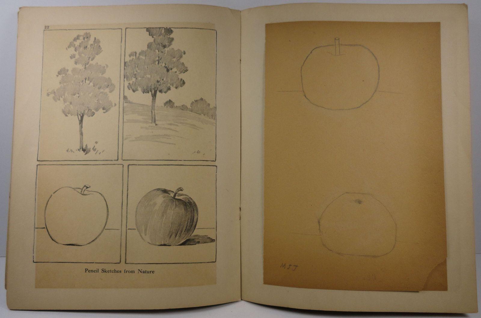 Progressive Drawing Books IV The Prang company
