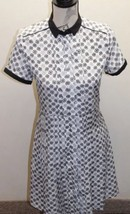 Jason Wu By Target Women Dress White Black Geometric Print XS Classic Looking - $57.85
